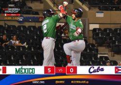 México obtiene su primer triunfo en el Mundial Sub-23 venciendo a Cuba