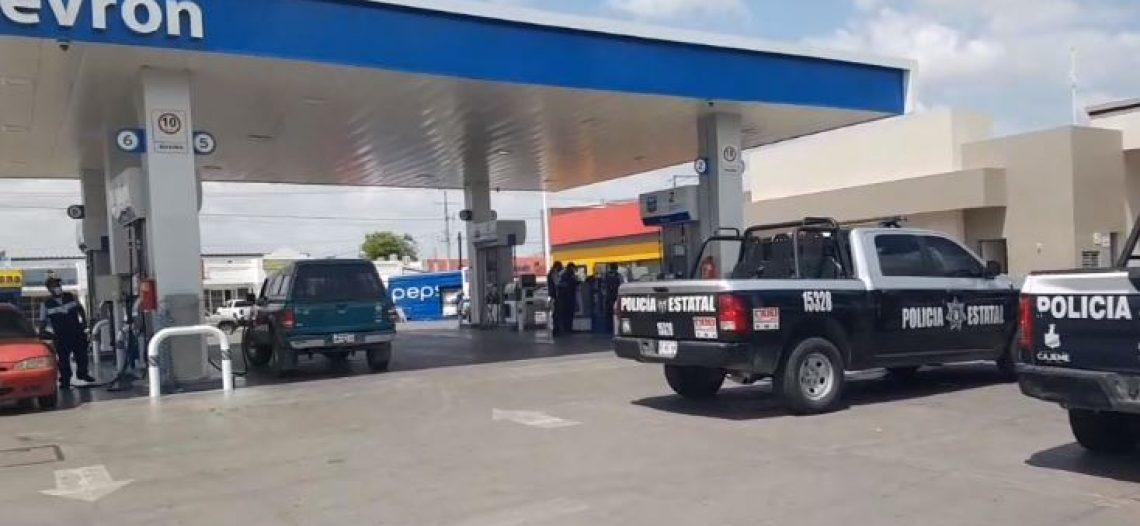 400 mil pesos de botín en asalto a gasolinera de Cajeme