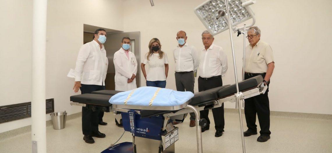 Entregan Gobernadora y Presidente obra del nuevo Hospital General del Estado