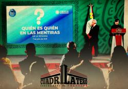 TEPJF determina a 'quién es quién en las mentiras' como propaganda morenista