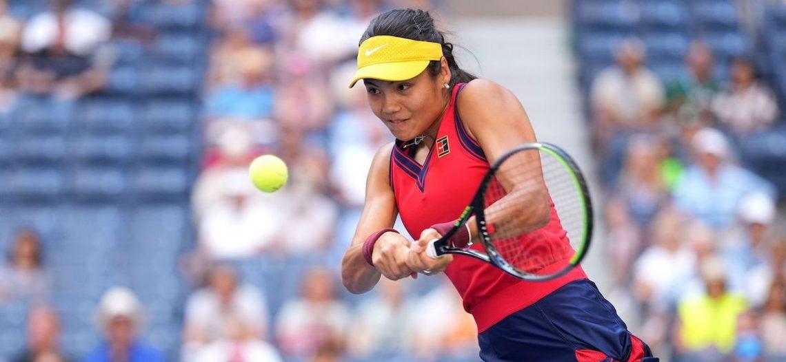 Raducanu, la tenista más joven en semis del US Open
