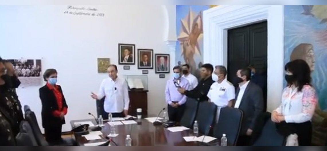 Instala Durazo la Mesa de Coordinación Estatal para la Construcción de la Paz.  │ VIDEO