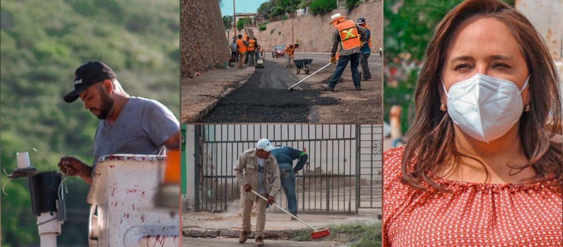 Trabaja Ayuntamiento en distintas acciones para resolver problemáticas de Guaymas