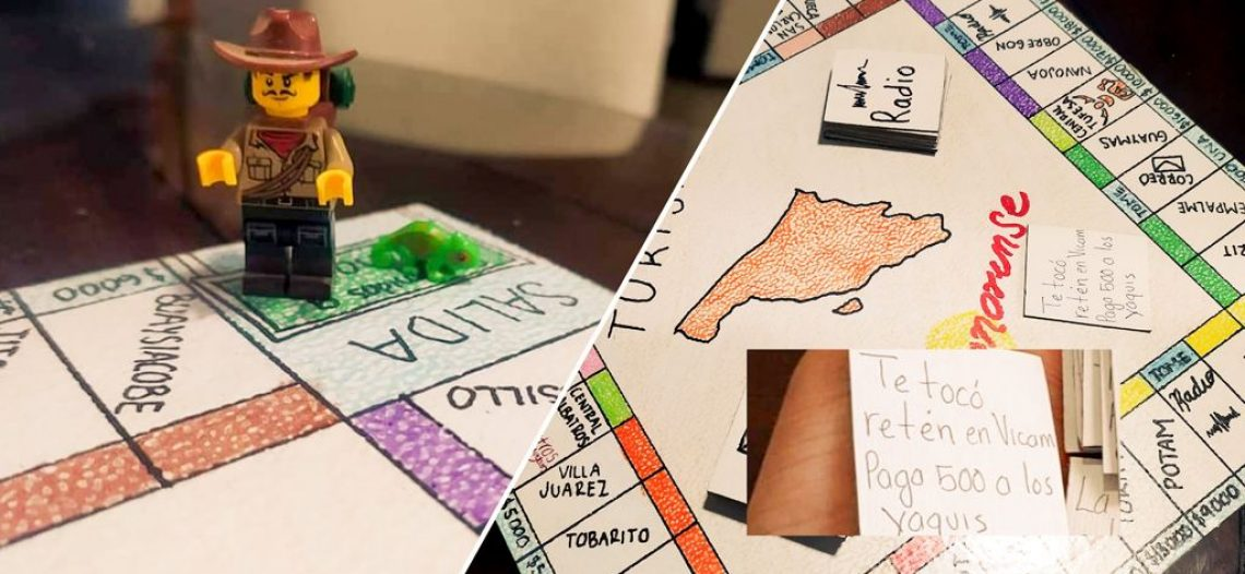 Que Buquis tan ocurrentes | Crean jóvenes juego del «Turista» versión Sonorense