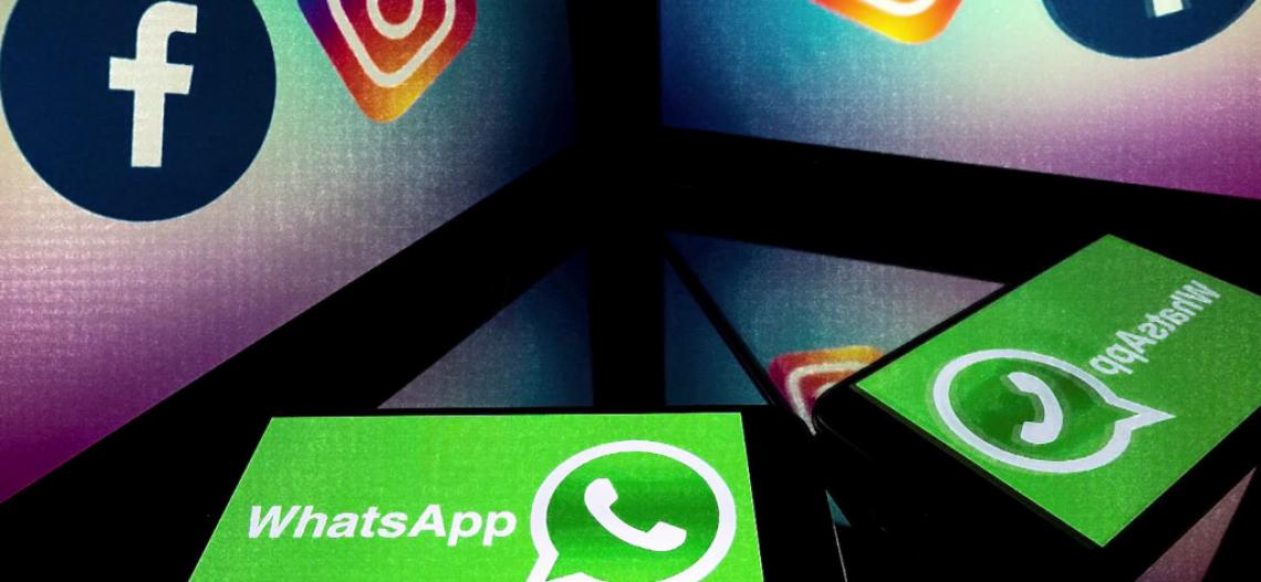 Facebook, Instagram y WhatsApp empiezan a funcionar, después de caída mundial.