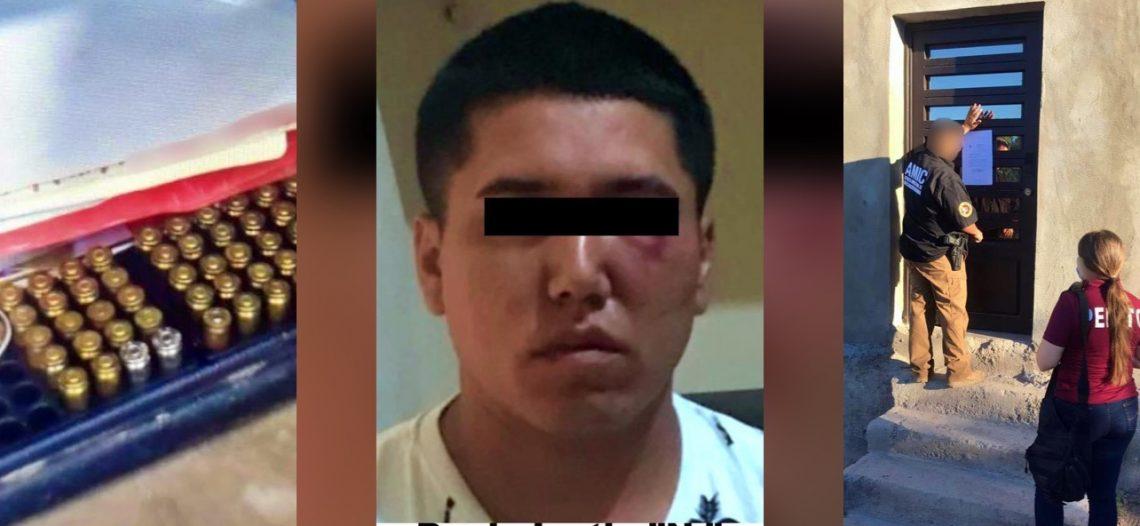 Detenido en Empalme por Violación a Menor de edad