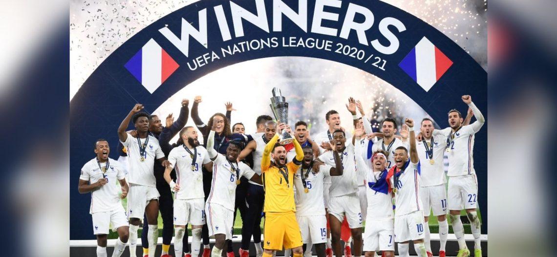Francia remonta a España y conquista la Liga de Naciones