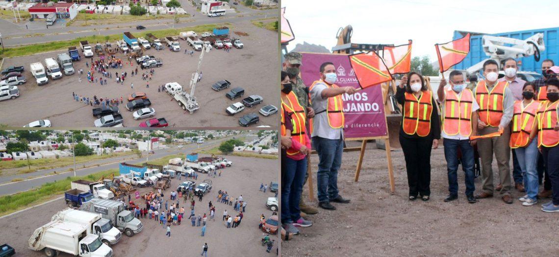 Inician jornadas de limpieza en sector Guaymas Norte